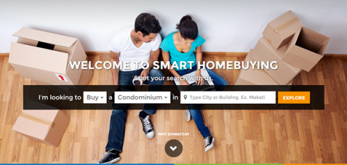 Zipmatch Homepage
