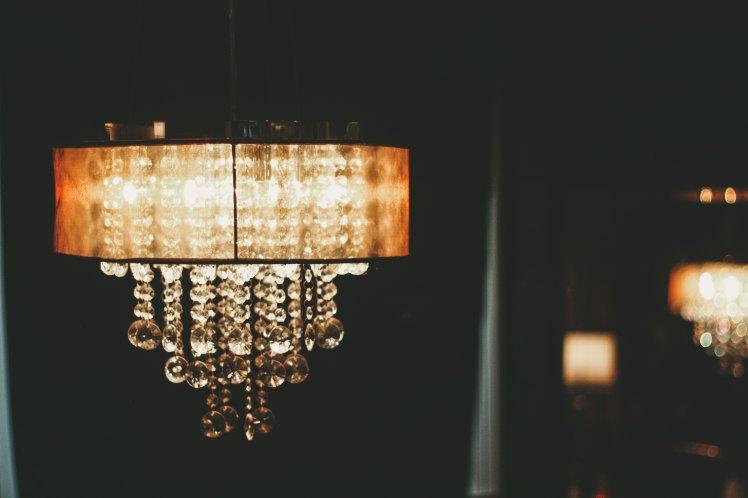 chandelier soft light