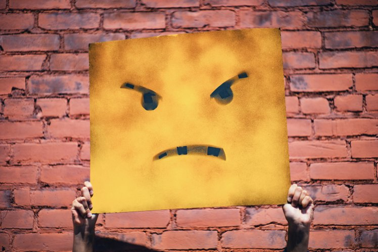 angry, frown, angry face, angry board